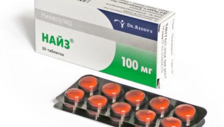 Суспензия, гель, таблетки «Найз»: инструкция по применению