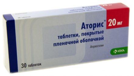 От чего помогают таблетки «Аторис». Инструкция по применению