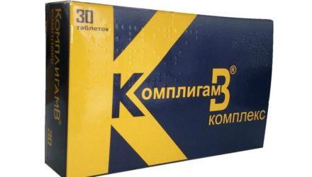 Уколы 2 мл, таблетки Комплигам B: инструкция по применению, цены и отзывы