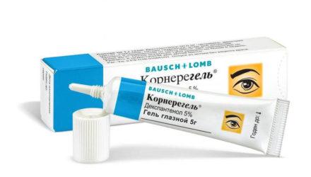 От чего помогают мазь 5% или гель глазной Корнерегель: инструкция по применению