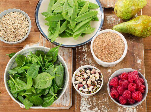 потребление пищевого волокна