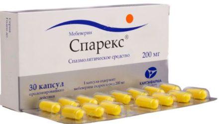 Таблетки 200 мг Спарекс: инструкция по применению