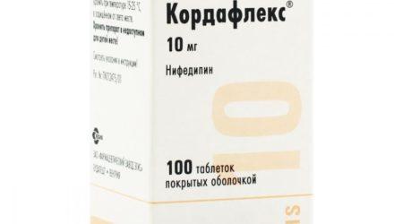 От чего помогают таблетки 10 мг, 20 мг ретард, 40 мг Кордафлекс: инструкция по применению