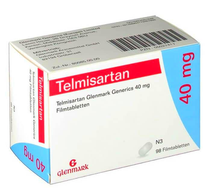 Телмисартан: инструкция по применению