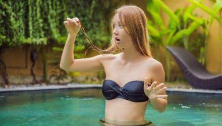 Способы защиты волос от хлора в бассейне