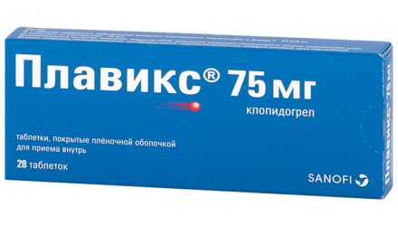 Таблетки 75 мг и 300 мг Плавикс: инструкция по применению
