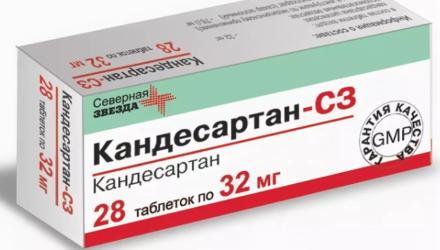 Таблетки Кандесартан: инструкция по применению