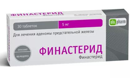 Таблетки 1 и 5 мг Тева, OBL Финастерид: инструкция по применению